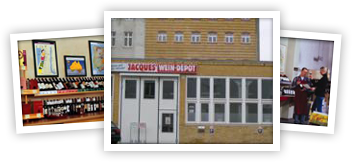Jacques' Wein-Depot Leipzig-Südvorstadt