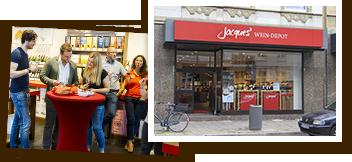 Jacques' Wein-Depot Düsseldorf-Flingern