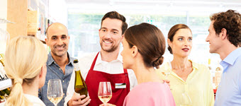 Thematische Weinprobe
