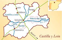 Castilla y Leon Spanien