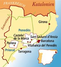 Priorato Spanien