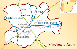 Ribera del Duero Spanien