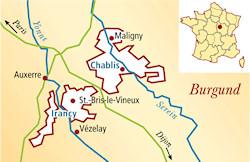 Chablis Frankreich