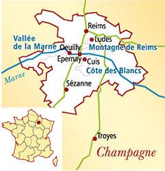 Champagne Frankreich