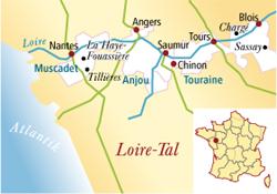 Pouilly-Fumé Frankreich