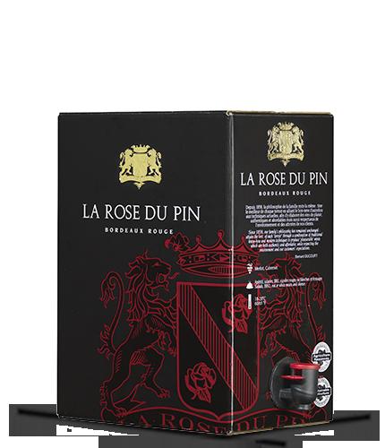 LA ROSE DU PIN Rouge 2018 – 5Liter