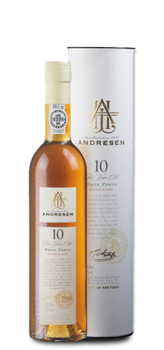 ANDRESEN 10 Year Old White Port 0,5L