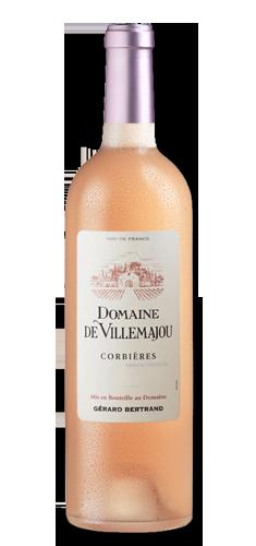 DOMAINE DE VILLEMAJOU Rosé BIO** 2019 – FR-BIO-01