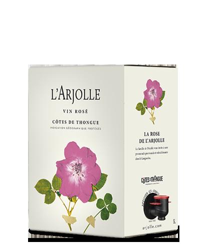 LA ROSE DE L' ARJOLLE 2019 – 5Liter