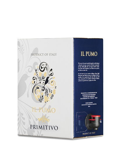 IL PUMO Primitivo 2019 – 5Liter