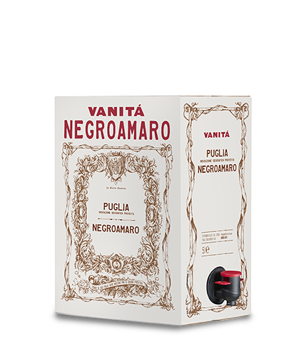 VANITÁ Negroamaro 2019 – 5Liter