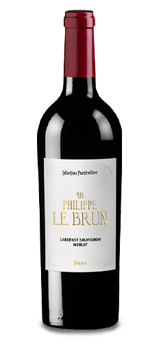 PHILIPPE LE BRUN Merlot-Cabernet 2019