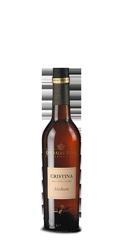 CRISTINA Sherry Medium 0,375Liter