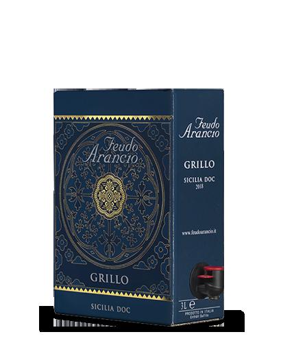 FEUDO ARANCIO Grillo 2018 – 3Liter