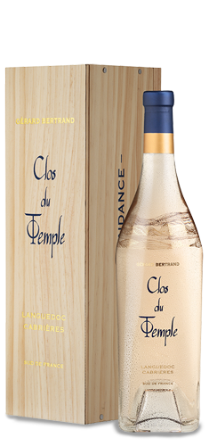 CLOS DU TEMPLE Rosé BIO** 2019 – FR-BIO-01
