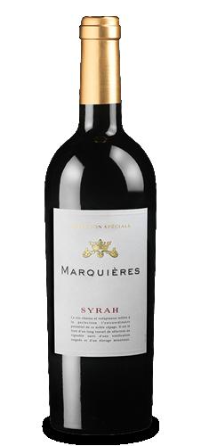 MARQUIÈRES Syrah Sélection Spéciale 2019