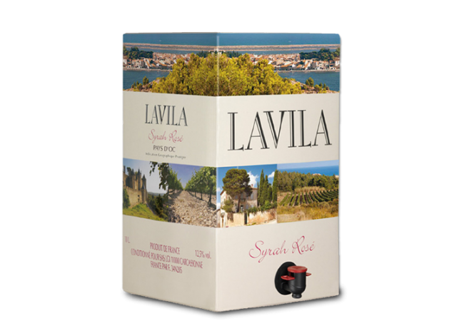 LAVILA Syrah Rosé 2019 – 10Liter