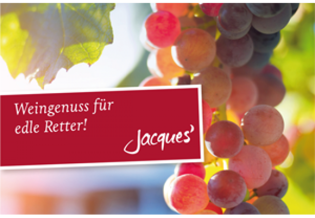 Weingenuss für edle Retter!