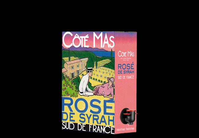 CÔTÉ MAS Rosé 2020 – 3Liter