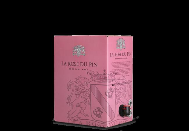 LA ROSE DU PIN Rosé 2018 – 5Liter