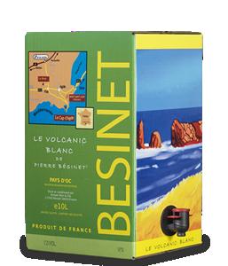 BÉSINET Le Volcanic Blanc 2018 – 10Liter