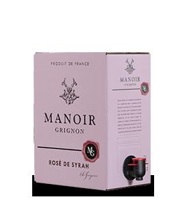 MANOIR GRIGNON Rosé 2018 – 5Liter