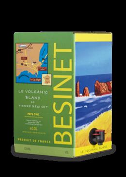 BÉSINET Le Volcanic Blanc 2019 – 10Liter