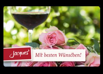 Mit besten Wünschen - Rosen