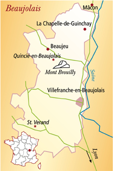 Beaujolais Frankreich