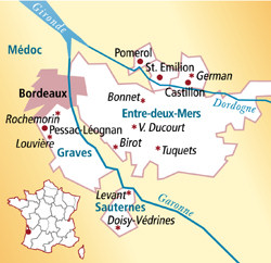 Montagne-Saint-Émilion Frankreich
