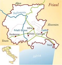 Friuli Grave Italien