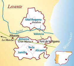 Almansa Spanien